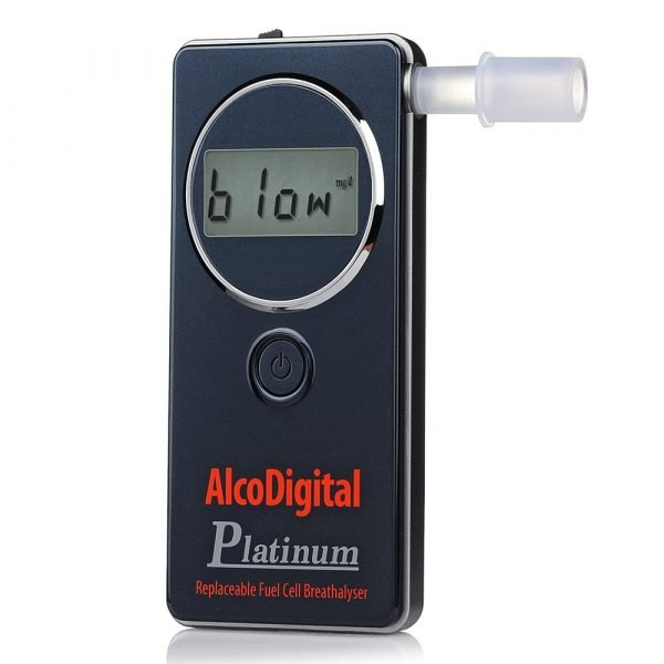 AlcoDigital Platinum Digital Breathalyser