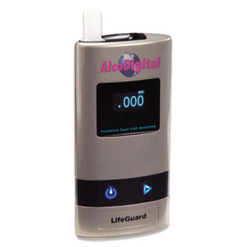 Lifeguard breathalyzer