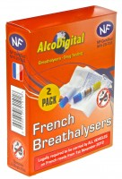 Twin pack of NF single use breathalyzer
