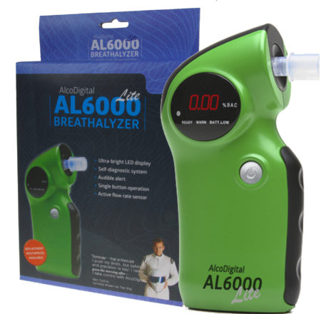 AL6000 Lite breathalyzer and box