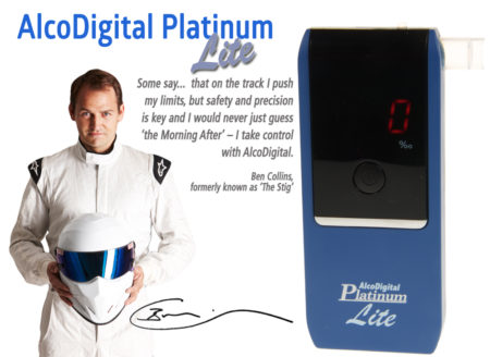 Ben collins quote and AlcoDigital Platinum Lite Breathalyzer