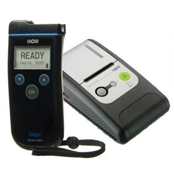 Drager 6820 breathalyzer with Printer