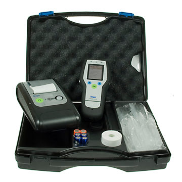 Dräger Alcotest 7510 Breathalyzer System Kit