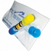 NF breathalyzer bag and tube