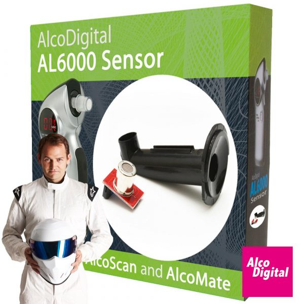 Swap and go sensor for the AL6000 breathalyzer from AlcoDigital