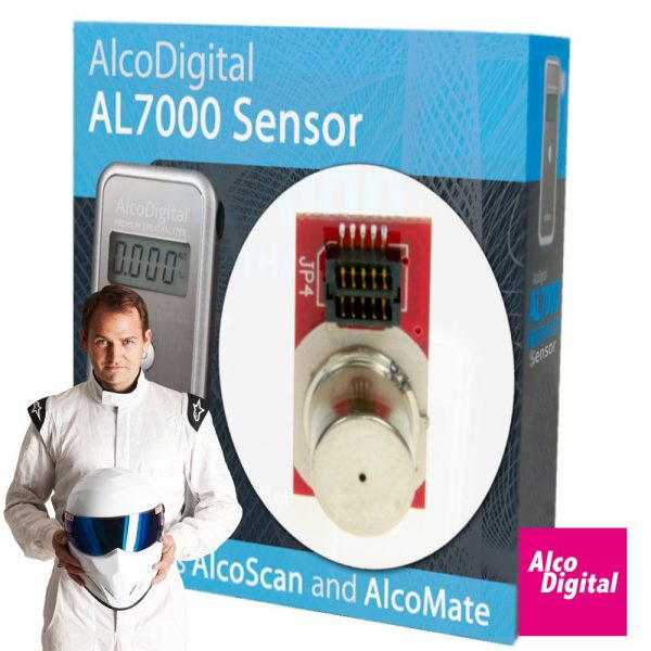 Swap and go sensor for the AL7000 Breathalyzer