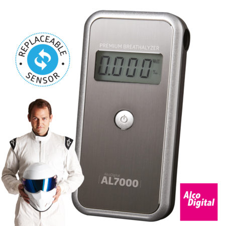 AL7000 Breathalyzer with replaceable sensor