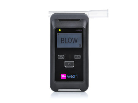 EON breathalyzer with swap and go sensor