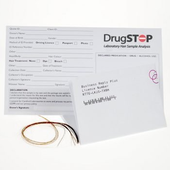DrugStop Laboratory Hair Sample Analysis Kit